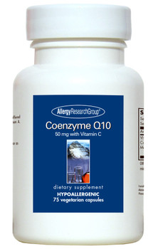 Coenzyme Q10 50 Mg 75 Vegetarian Capsules (Allergy Research Group)