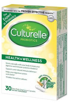 Culturelle Probiotic 30 Vegetarian Capsules (Allergy Research Group)