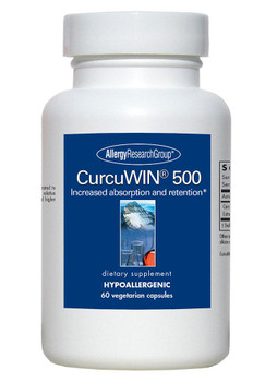 CurcuWIN 500 60 Vegetarian Capsules (Allergy Research Group)