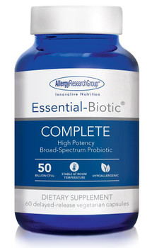 Essential-Biotic COMPLETE 60 delayed-release vegetarian capsules (Allergy Research Group)
