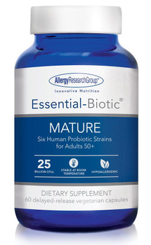 Essential-Biotic MATURE 60 delayed-release vegetarian capsules (Allergy Research Group)