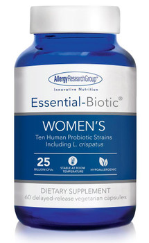 Essential-Biotic WOMEN'S 60 delayed-release vegetarian capsules (Allergy Research Group)