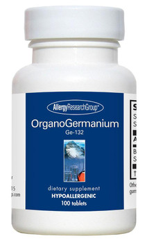OrganoGermanium Ge-132 100 tablets (Allergy Research Group)