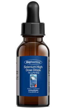 Selenium High Dose Drops 15 mL (0.50 fl. oz.) (Allergy Research Group)