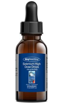 Selenium High Dose Drops 15 mL (0.50 fl. oz.) (Allergy Research Group)