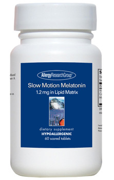 Slow Motion Melatonin 60 Scored Tablets (Allergy Research Group)