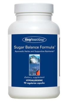 Sugar Balance Formula* 90 Vegetarian Capsules (Allergy Research Group)