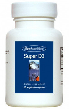 Super D3 60 Vegetarian Capsules (Allergy Research Group)