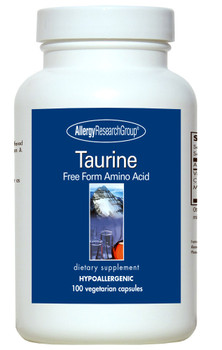 Taurine 500 Mg 100 Vegetarian Caps (Allergy Research Group)