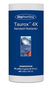 Taurox 4X 80 pellets 4 grams (0.14 oz.) (Allergy Research Group)