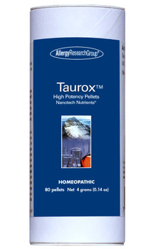 Taurox High Potency 80 pellets 4 grams (0.14 oz.) (Allergy Research Group)
