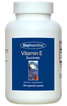 Vitamin E 100 Vegetarian Caps (Allergy Research Group)