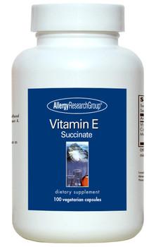 Vitamin E 100 Vegetarian Caps (Allergy Research Group)