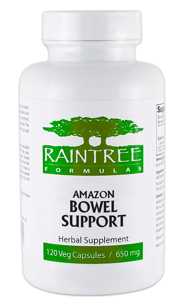 Amazon Bowel Support - 120 Capsules by Raintree