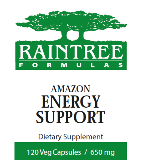 Amazon Energy Support - 120 Capsules by Raintree