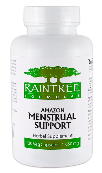 Amazon Menstrual Support - 120 Capsules by Raintree