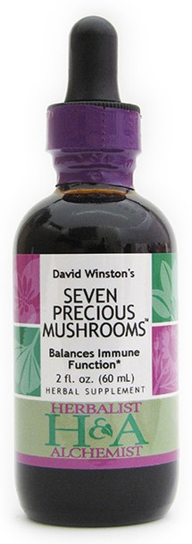 Seven Precious Mushrooms 2 oz. by Herbalist & Alchemist