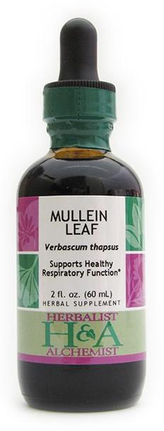 Mullein Leaf  Liquid Extract by Herbalist & Alchemist