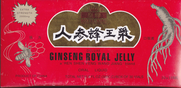 Ginseng Royal Jelly ( 10 ml x 30 Vials)
