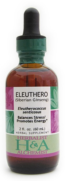 Eleuthero (Siberian Ginseng) by Herbalist & Alchemist