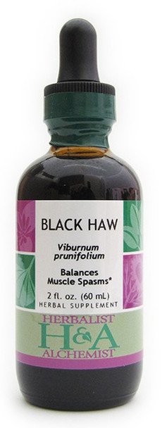 Black Haw Liquid Extract by Herbalist & Alchemist
