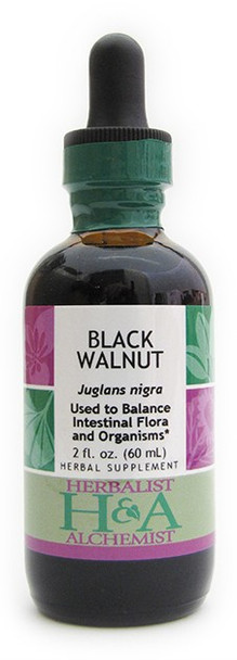 Black Walnut Liquid Extract by Herbalist & Alchemist