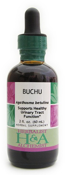 Buchu Liquid Extract by Herbalist & Alchemist