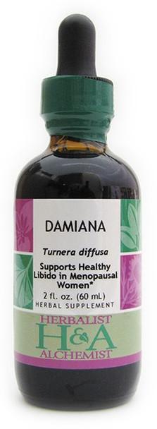 Damiana Liquid Extract by Herbalist & Alchemist