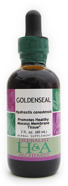 Goldenseal Liquid Extract by Herbalist & Alchemist