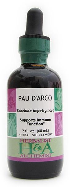 Pau d'Arco Liquid Extract by Herbalist & Alchemist