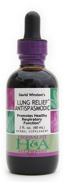 Lung Relief Antispasmodic 2 oz. by Herbalist & Alchemist
