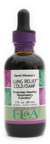 Lung Relief Cold/Damp 2 oz. by Herbalist & Alchemist