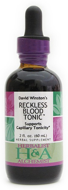 Reckless Blood Tonic 2 oz. by Herbalist & Alchemist