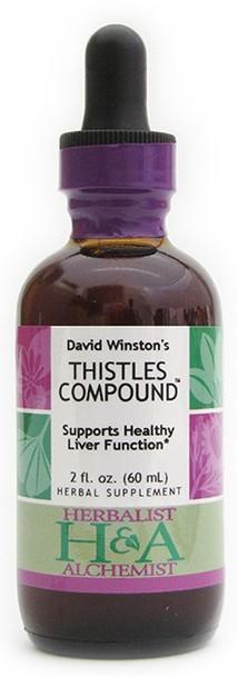 Thistles Compound by Herbalist & Alchemist
