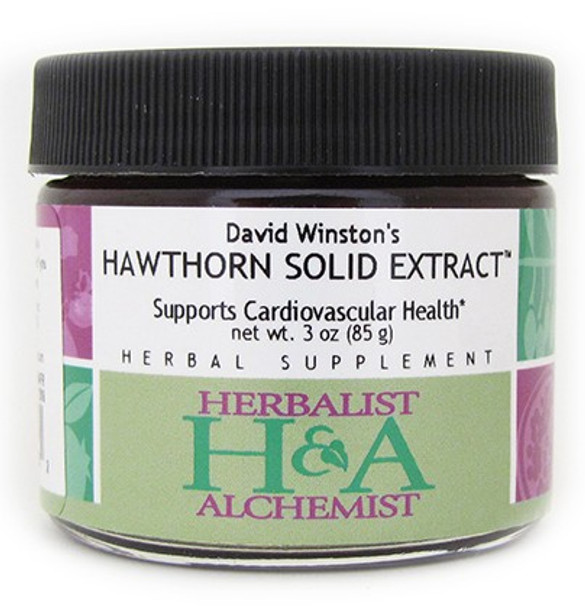 Hawthorn Solid Extract 6 oz. by Herbalist-Alchemist - free shipping