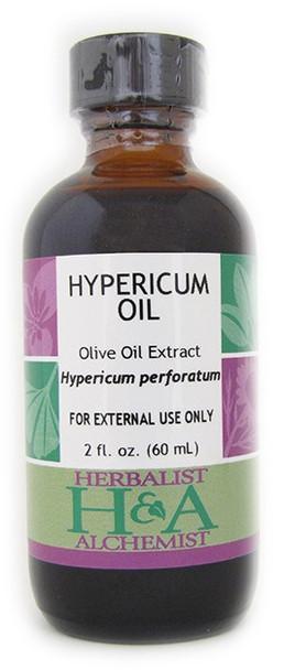 Hypericum Oil 2 oz. by Herbalist & Alchemist