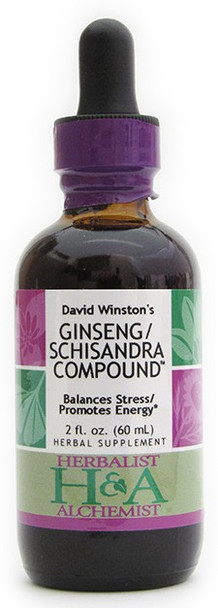 Ginseng/Schizandra Compound 2 oz. by Herbalist & Alchemist