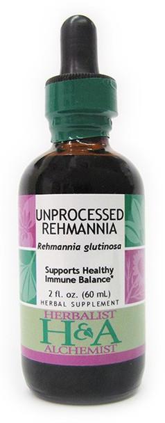 Unprocessed Rehmannia Liquid Extract by Herbalist & Alchemist