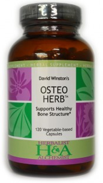 Osteo Herb™ 120 Vegetable-Based Capsules by Herbalist & Alchemist