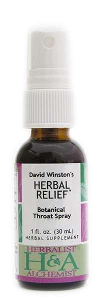 HERBAL RELIEF™ Botanical Throat Spray by Herbalist & Alchemist