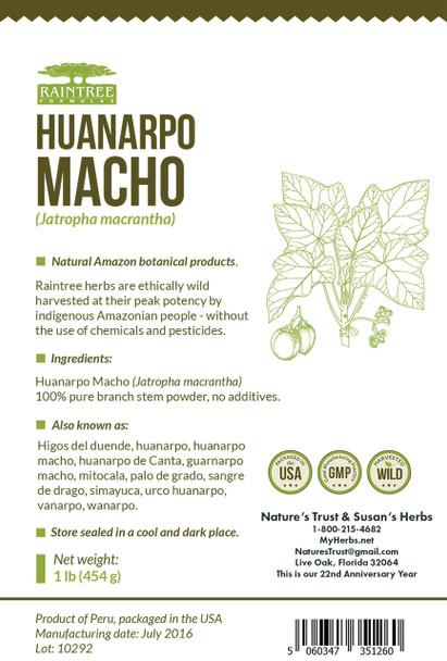 Huanarpo Macho Powder - 16 oz.