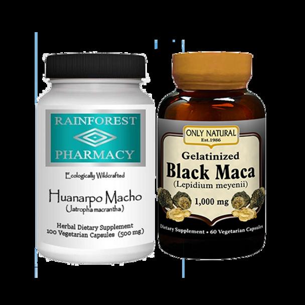 Huanarpo Macho & Black Maca Kit