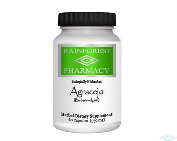 Agracejo 60 Vegetarian Capsules by Rainforest Pharmacy