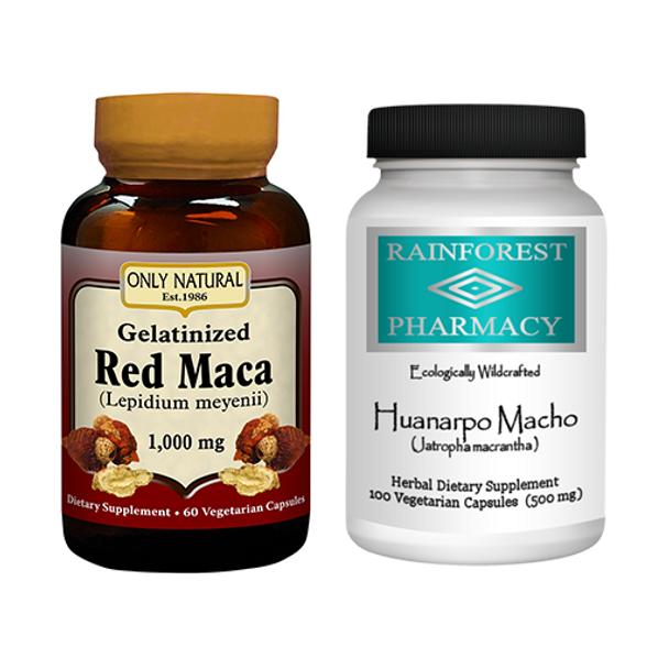 Red Maca & Huanarpo Macho Kit