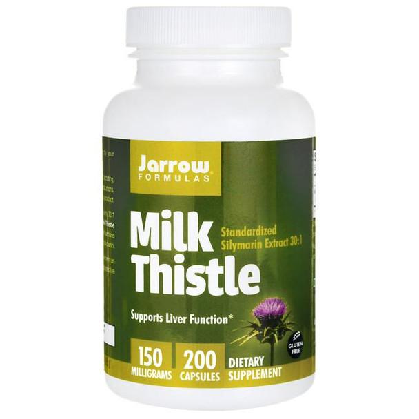 Milk Thistle Standardized Silymarin Extract 30:1 - 200-capsules