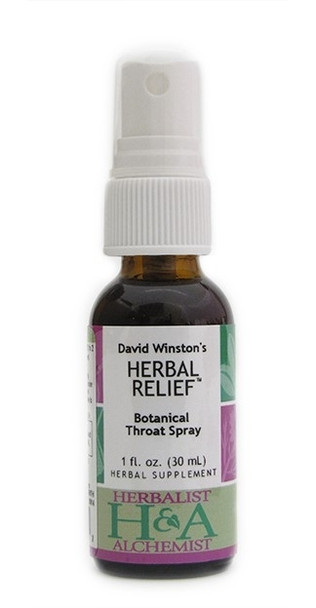 Herbal Relief Throat Spray 1-oz