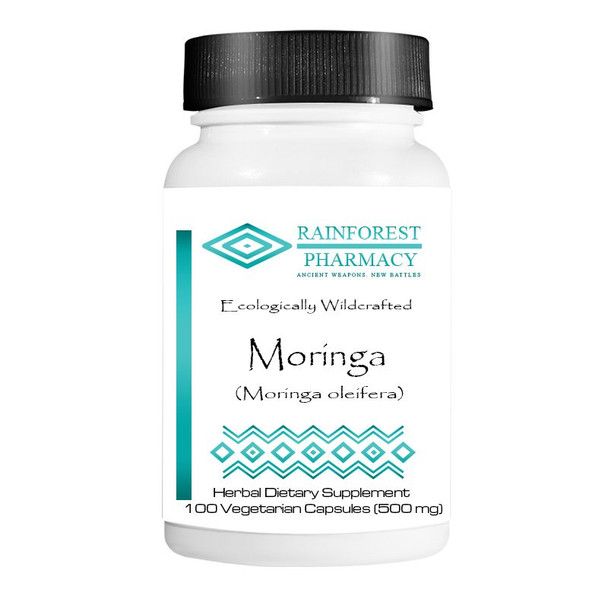 Moringa (Moringa oleifera) 100 Vegetarian Capsules/500 mg