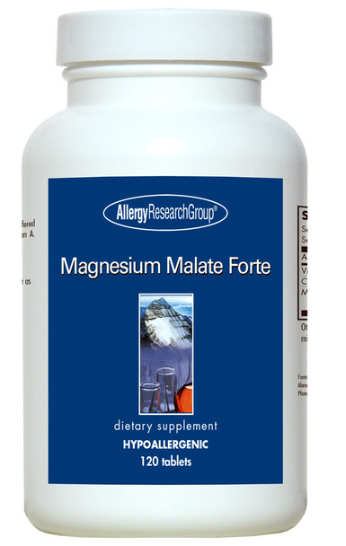 Magnesium Malate Forte 120 Vegetarian Tablets (Allergy Research Group)