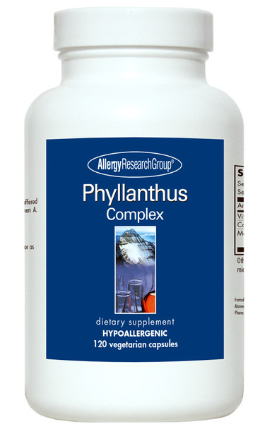 Phyllanthus Complex 120 Vegetarian Caps (Allergy Research Group)