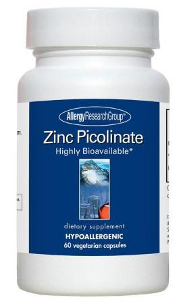 Zinc Picolinate 60 Vegetarian Caps (Allergy Research Group)
